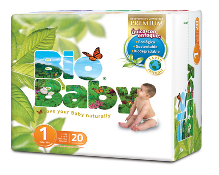 Bio Baby Nappies - Size 1